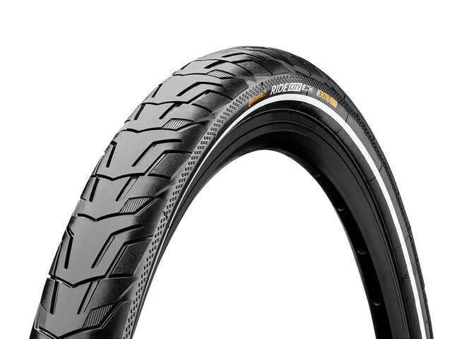 "Continental Ride City Bike Tyre 28"" E-25 Reflex black"